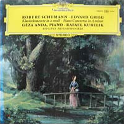 [중고] [LP] Geza Anda, Rafael Kubelik / Schumann, Grieg : Piano Concertos in A minor (sel200115)
