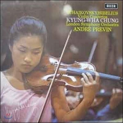 [중고] [LP] 정경화 / Tchaikovsky, Sibelius: Violin Concertos (sel0001)