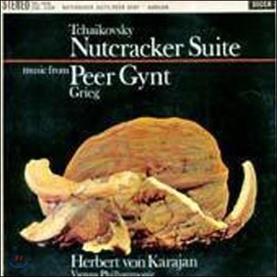 [중고] [LP] Herbert Von Karajan / Tchaikovsky : Nutcracker Suite, Grieg : Peer Gynt (sel0035)