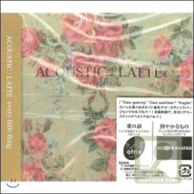 Every Little Thing (에브리 리틀 씽) / Acoustic:Latte [DVD 첨부 첫회 한정 생산/일본수입/미개봉/avcd17612]