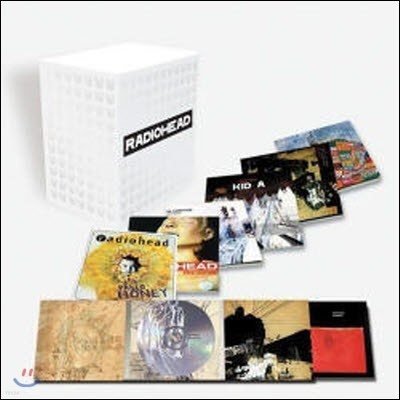 Radiohead / 7CD Album Deluxe Box Set (Limited Edition/수입/미개봉)