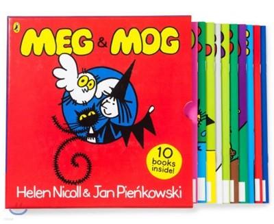 메그와 모그 원서 10권 박스 세트 : Meg and Mog 10 Books Collection