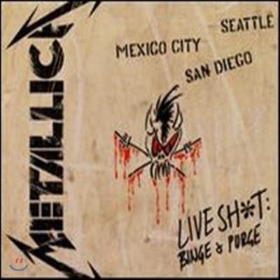 [중고] Metallica - Live Shit: Binge & Purge (3CD+3VHS Tape Boxset/수입)