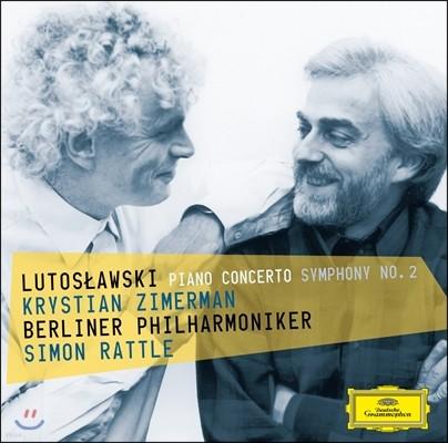 Krystian Zimerman / Simon Rattle 루토스와브스키: 피아노 협주곡, 교향곡 2번 (Lutoslawski: Piano Concerto, Symphony No.2)