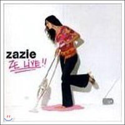 Zazie / Ze Live (2CD/수입/미개봉)