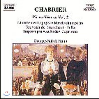Georges Rabol / Chabrier : Piano Works Vol.2 (수입/미개봉/8553010)