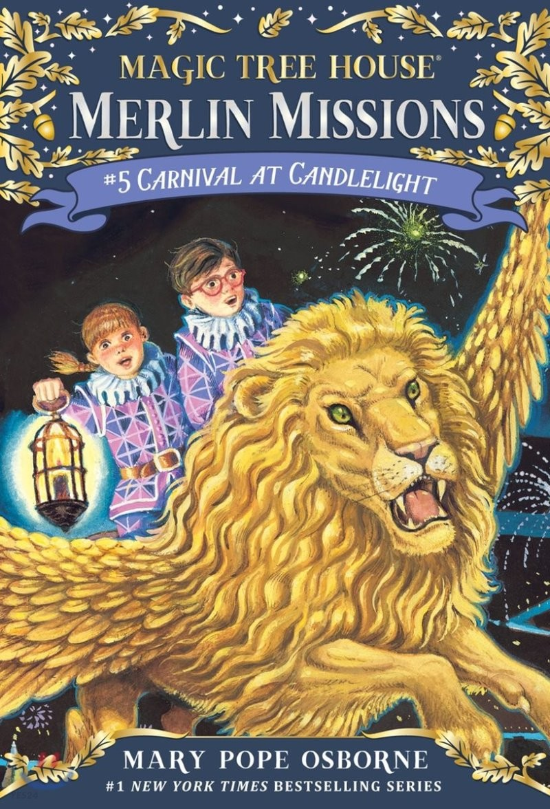 Merlin Mission #5 : Carnival at Candlelight