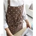 [콩지] 써클 방수 허리끈 앞치마 (목걸이형)