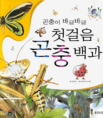 곤충이 바글바글 첫걸음 곤충백과