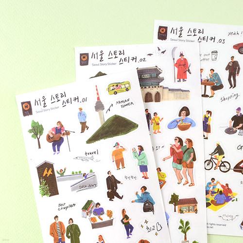 Seoul Story Sticker