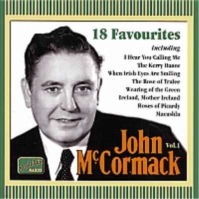 John Mccormack - 18 Favourites