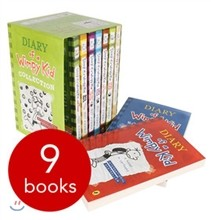 Diary of Wimpy Kid Collection Box Set : #1~8 & Do-It-Yourself Book