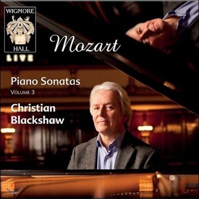 Christian Blackshaw 모차르트: 피아노 소나타 3집 - 6, 12, 14, 16번 (Mozart: Piano Sonatas Volume 3)