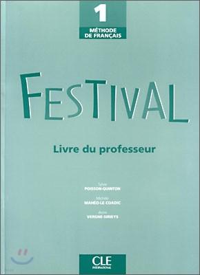 Festival 1, Livre du Professeur