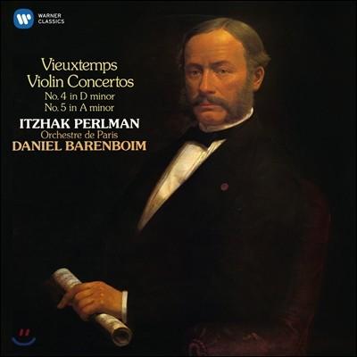 Itzhak Perlman 이차크 펄만 18집 - 비외탕: 바이올린 협주곡 4, 5번 (Vieuxtems: Violin Concertos No.4, No.5)