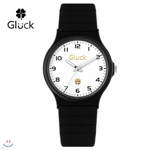 [특가 48%][Gluck] 글륵 행운의 시계 GL1505-BKW 본사정품 [0176038368]