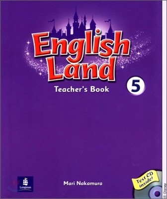English Land 5 : Teacher's Book with Audio CD(1)