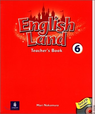 English Land 6 : Teacher's Book with Test CD