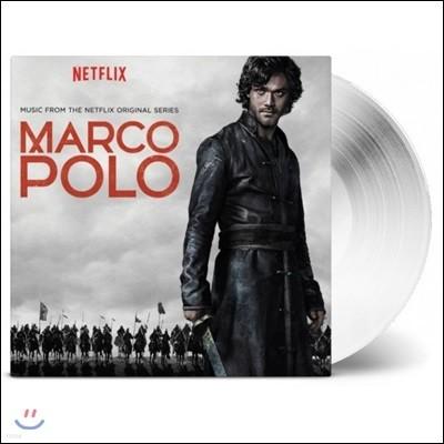 넷플릭스 드라마 '마르코 폴로' 사운드트랙 (Netflix's Marco Polo OST by Daniele Luppi 다니엘 루피) [투명 화이트 컬러 2 LP]