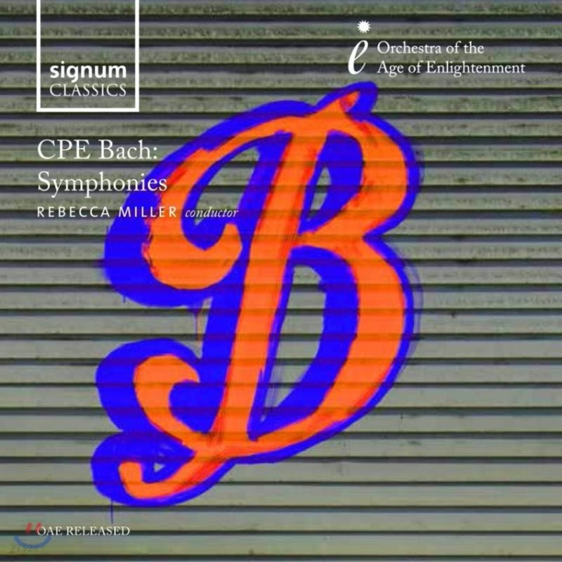 Rebecca Miller 칼 필립 엠마누엘 바흐: 교향곡 (CPE Bach: Symphonies)