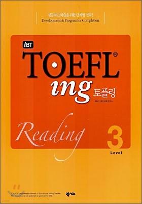 iBT TOEFLing 토플링 Reading Level 3