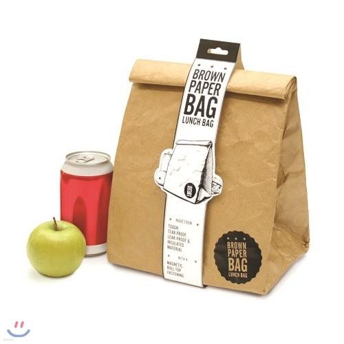 [원더스토어] 럭키스 직장인 런치박스 Brown Paper Bag