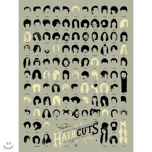 [원더스토어] 럭키스 팝차트 인테리어 포스터 헤어컷