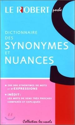 Synonymes et Nuances