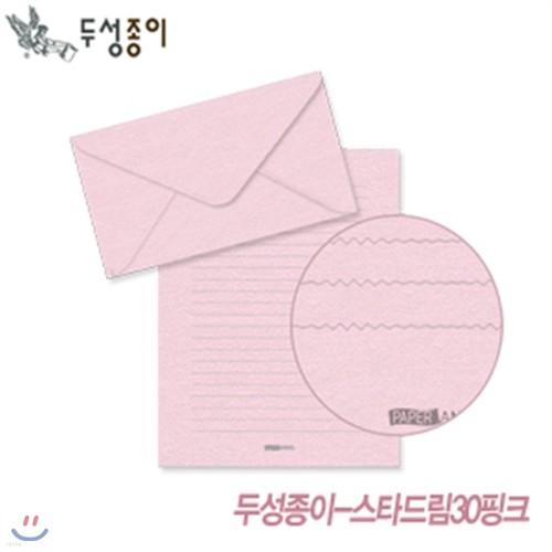 두성종이 스타드림-핑크(편선지 봉투) 편선지 봉투 편지 옆서 요떼아모