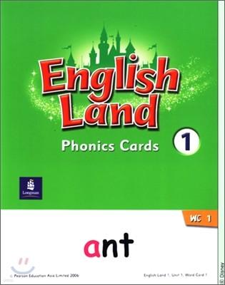English Land 1 : Phonics Cards