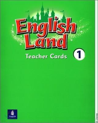 English Land 1 : Teacher Cards