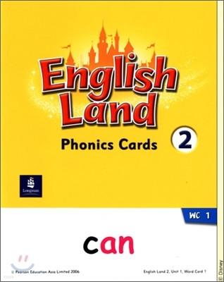 English Land 2 : Phonics Cards
