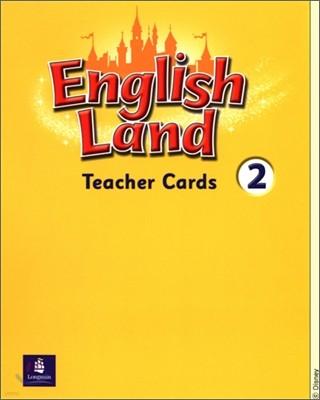 English Land 2 : Teacher Cards