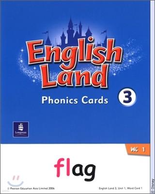 English Land 3 : Phonics Cards