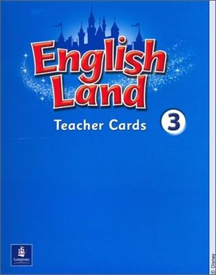 English Land 3 : Teacher Cards