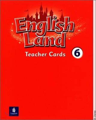 English Land 6 : Teacher Cards