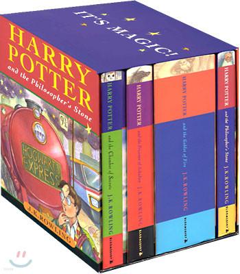 Harry Potter Hardcover Box Set (1~4권 총 4권)