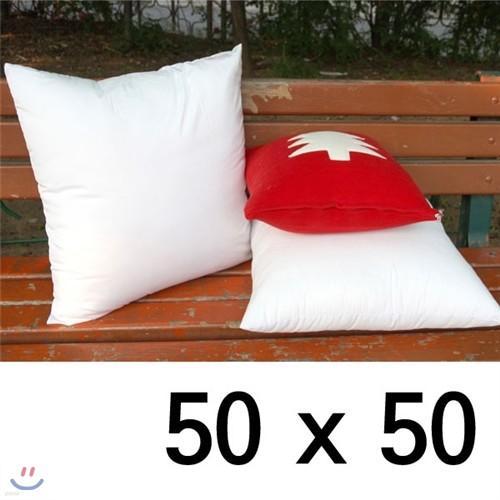 [콩지] 폴리에 극세사 항균 쿠션솜 50x50