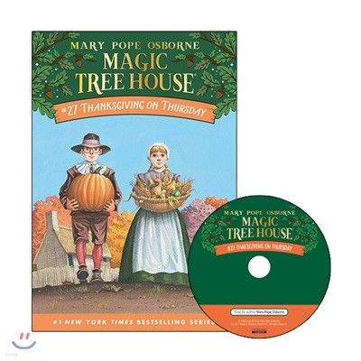 Magic Tree House #27 : Thanksgiving on Thursday (Book + CD)