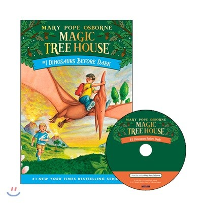 Magic Tree House #1 : Dinosaurs Before Dark (Book + CD)