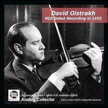 [YES24 �ܵ��Ǹ�] David Oistrakh �ٺ�� ���̽�Ʈ���� 1955�� �̱� RCA ���� ���ڵ�