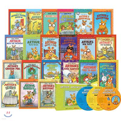 [아서 어드벤처 세이펜 버전] Arthur Adventure 21종 (Book & MP3 CD) (세이펜 미포함)
