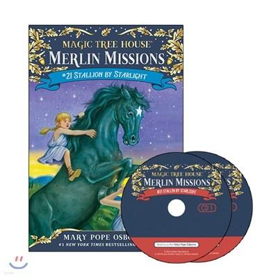 Merlin Mission #21 : Stallion by Starlight (Book + CD)