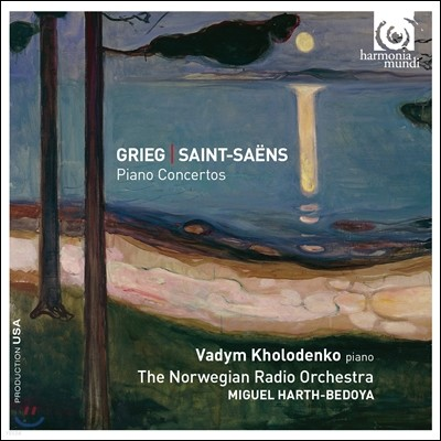 Vadym Kholodenko 그리그 / 생상스: 피아노 협주곡 (Grieg / Saint-Saens: Piano Concertos)