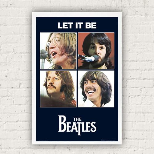 LP0771 비틀즈 - Let it be