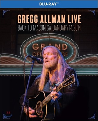 Gregg Allman - Gregg Allman Live: Back To Macon, GA Live (January 14, 2014)