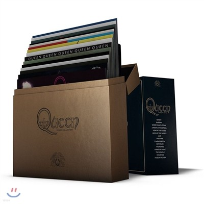 Queen - Complete Studio Album Vinyl Collection 퀸 LP 박스세트