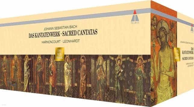Bach : Das Kantatenwerk (Sacred Cantatas) : HarnoncourtㆍLeonhardt