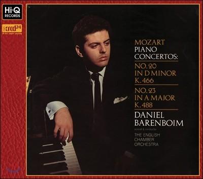 Daniel Barenboim 모차르트: 피아노 협주곡 20, 23번 (Mozart : Piano Concertos No.20, 23)