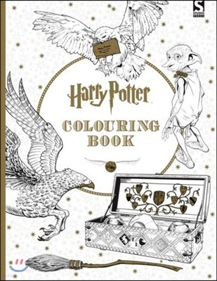 Harry Potter Colouring Book (영국판)